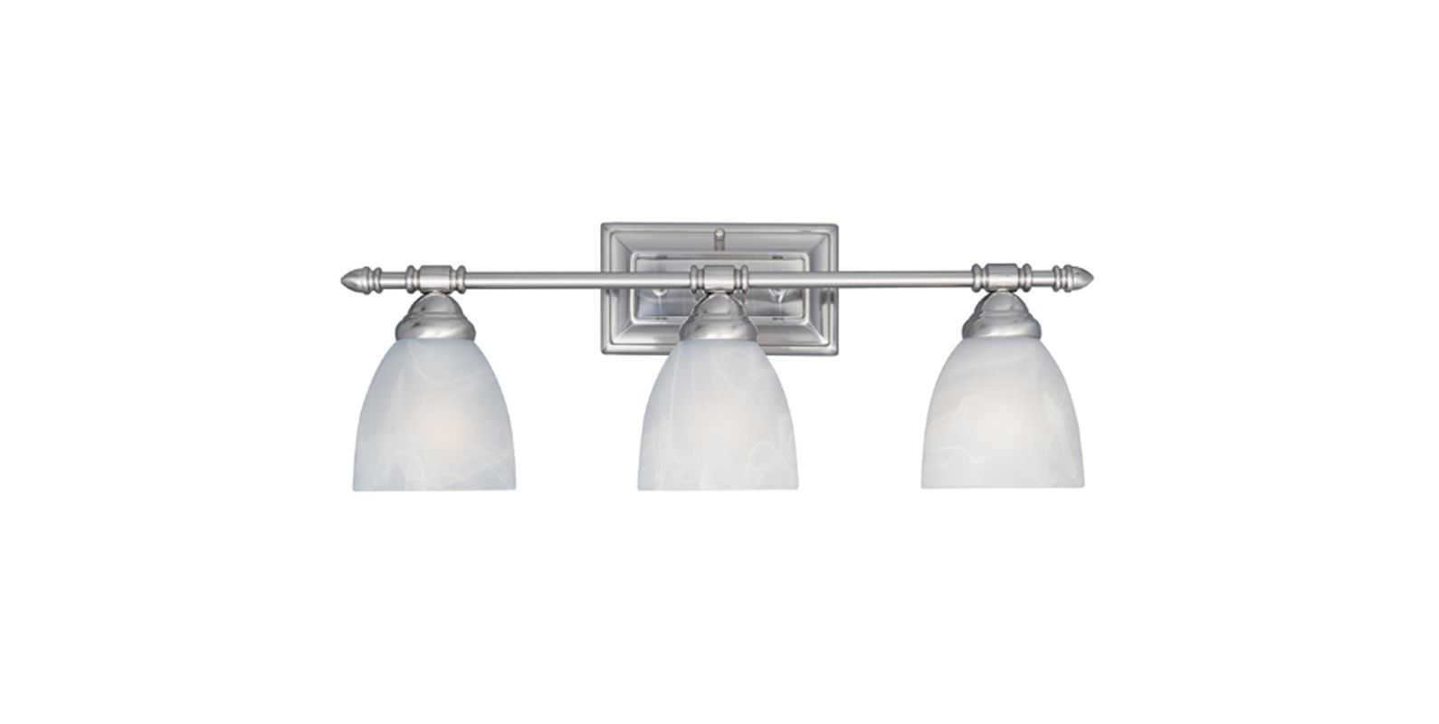 "Designers Fountain 94003 Three Light Down Lighting 23.75"" Wide"