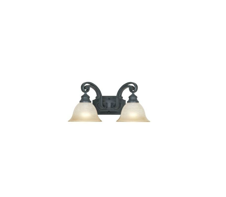 "Designers Fountain 96102 Barcelona 2 Light 17.25"" Wide Bathroom /"