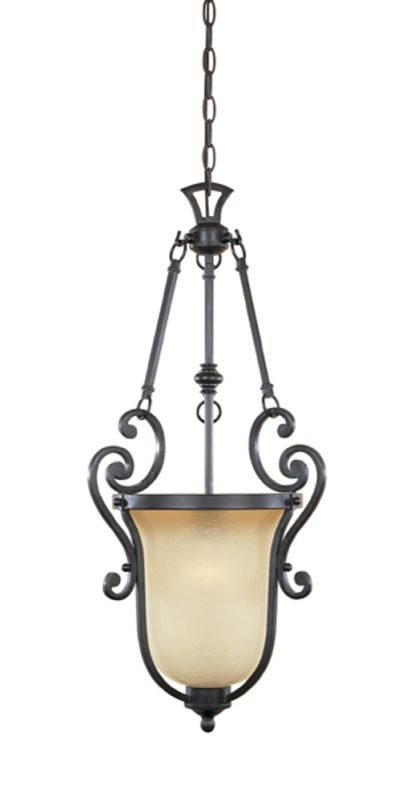 Designers Fountain 96151 Single Light Foyer Pendant from the Barcelona