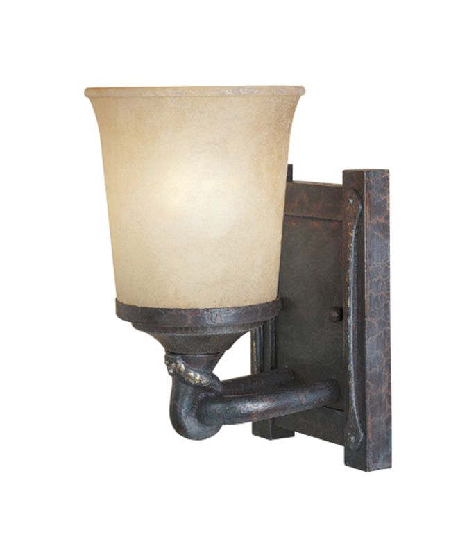 Designers Fountain 97301 Single Light Wall Sconce from the Austin