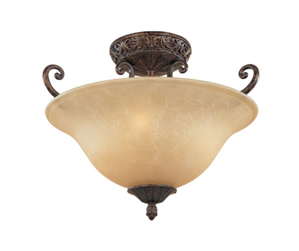 Designers Fountain 97511 Three Light Down Lighting Semi Flush Ceiling Sale $179.50 ITEM: bci805825 ID#:97511-BU UPC: 46335913219 :