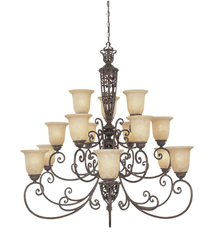 Designers Fountain 975815 Fifteen Light Up Lighting Three Tier Sale $1378.00 ITEM: bci805831 ID#:975815-BU UPC: 46335913301 :