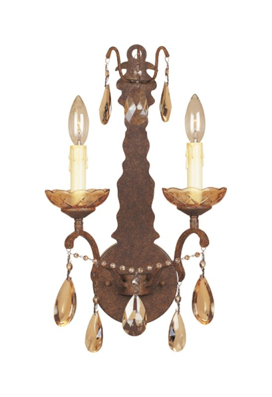 Designers Fountain 98302 Two Light Up Lighting Wall Sconce from the Sale $67.00 ITEM: bci805954 ID#:98302-VBR UPC: 46335912700 :