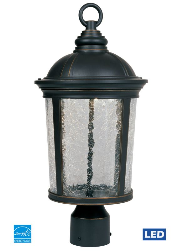 Designers Fountain LED21346 Winston LED Outdoor Post Light Aged Bronze