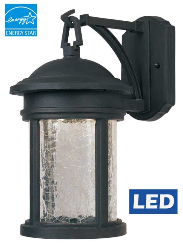"Designers Fountain LED31111 Single Light 7""W Outdoor Energy Star Wall"
