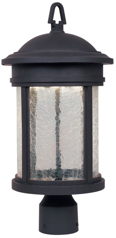 Designers Fountain LED31136 1 Light Post Lantern with LED Lights Oil