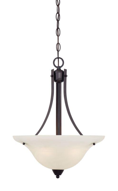 Designers Fountain 15005-IP Torino 1 Light Bowl Shaped Pendant Oil