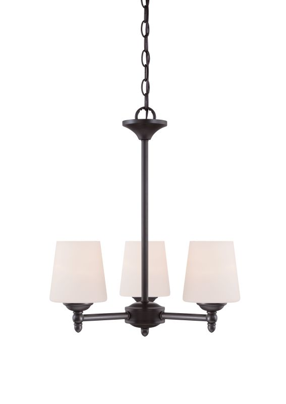 Designers Fountain 15006-3 Darcy 3 Light 1 Tier Mini Chandelier Oil