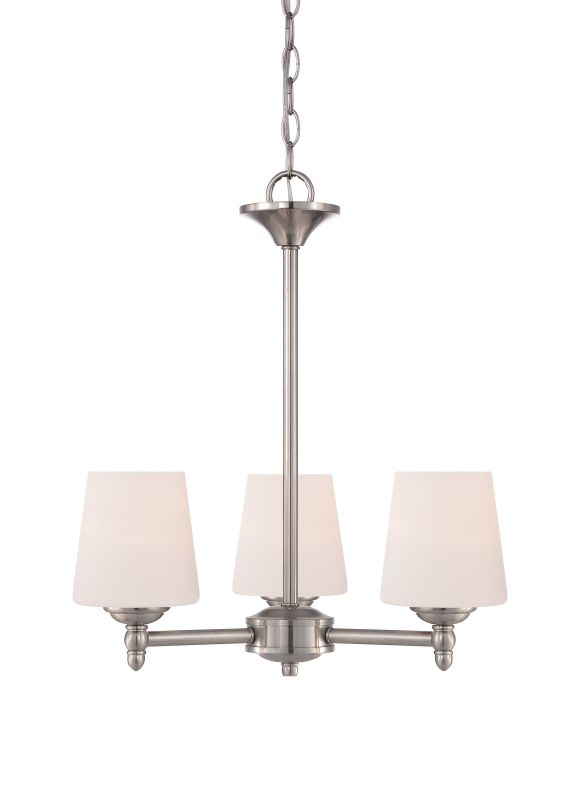Designers Fountain 15006-3 Darcy 3 Light 1 Tier Mini Chandelier