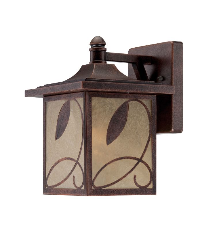 Designers Fountain 22231 Devonwood 1 Light Outdoor Wall Sconce Flemish