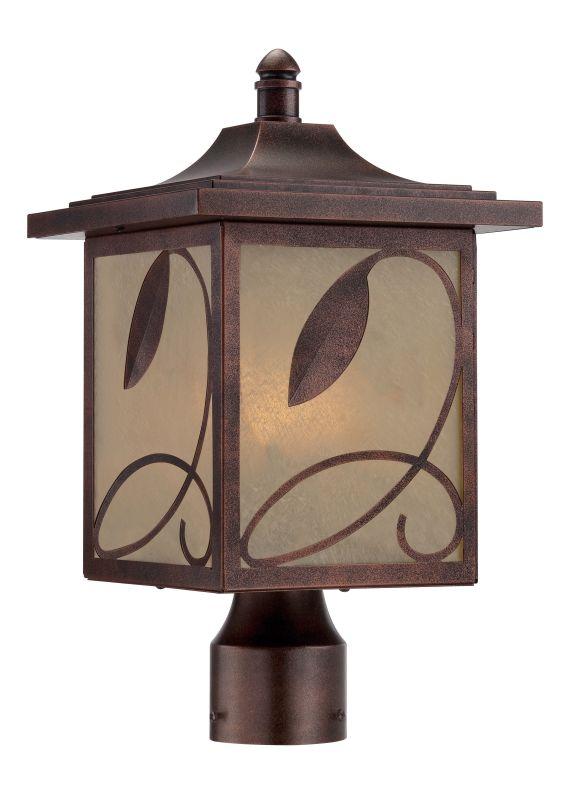 Designers Fountain 22236 Devonwood 3 Light Lantern Post Light Flemish