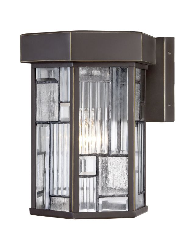 Designers Fountain 32121 Kingsley 1 Light Outdoor Wall Sconce Aged