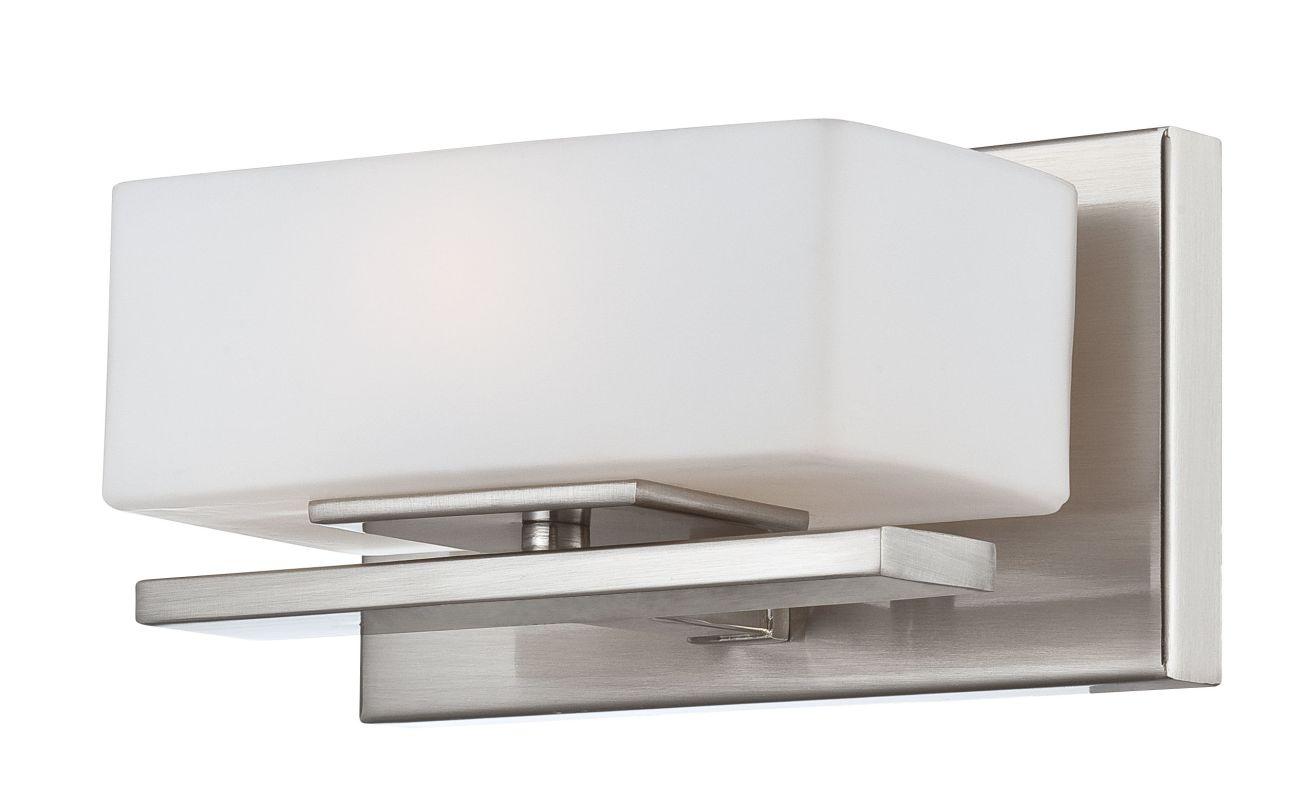 Designers Fountain 6711 Platinum Contemporary Meridian Bathroom Light