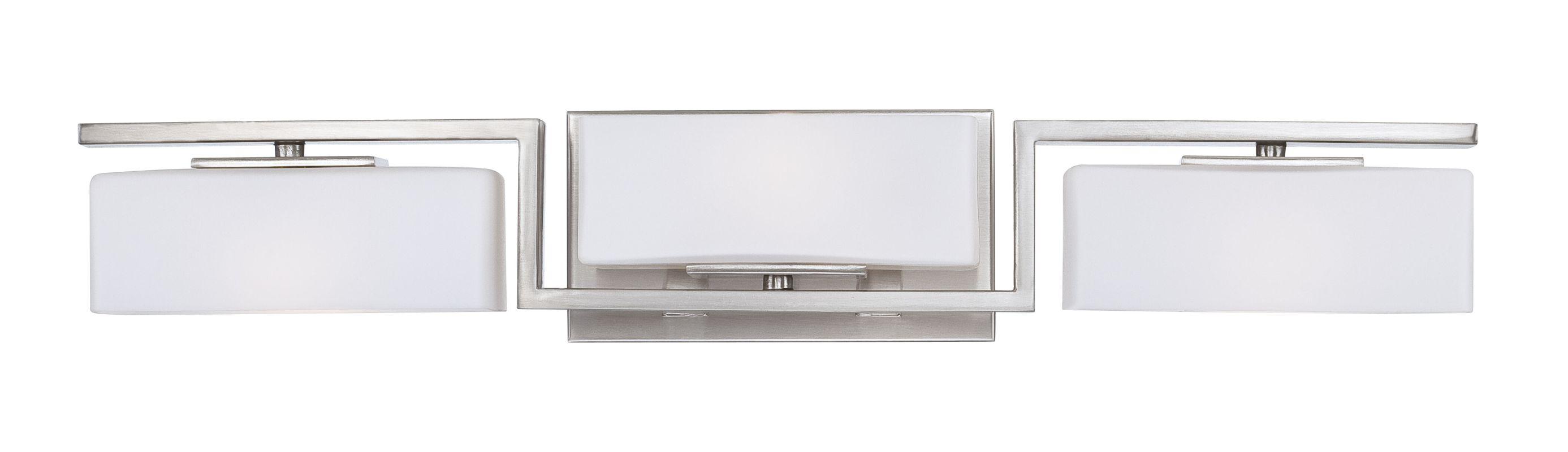 Designers Fountain 6713 Platinum Contemporary Meridian Bathroom Light