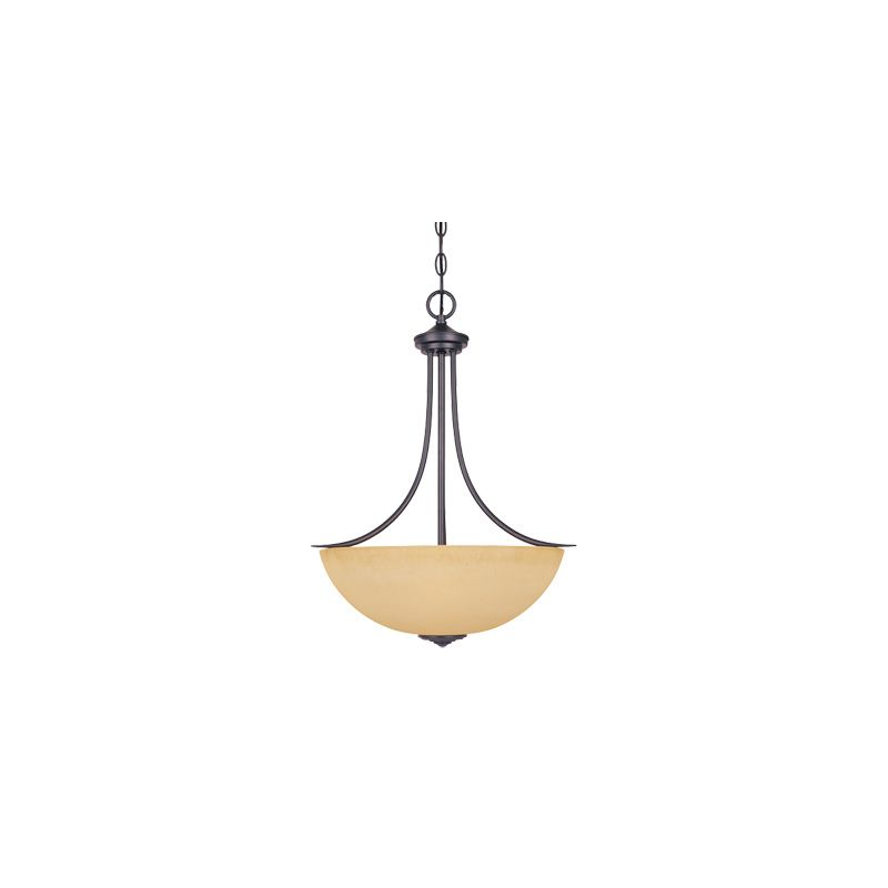 Designers Fountain 83331 Madison 3 Light Foyer Pendant Oil Rubbed
