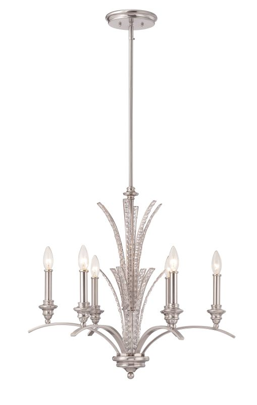 Designers Fountain 85786 Grand Plazza 6 Light 1 Tier Candle Style