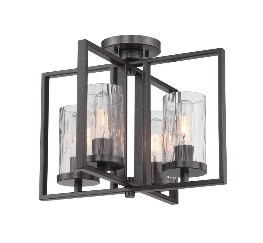 Designers Fountain 86511 Elements 4 Light Semi-Flush Ceiling Fixture Sale $331.50 ITEM: bci2576726 ID#:86511-CHA UPC: 46335984875 :