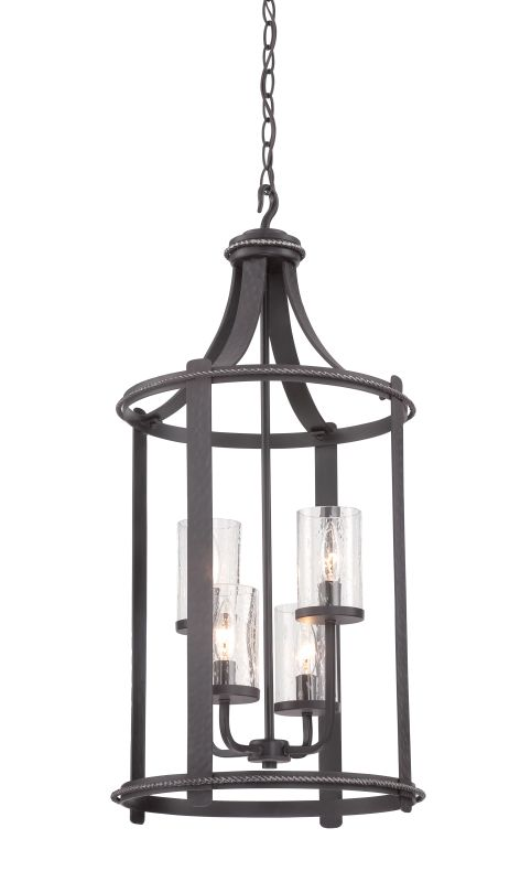 Designers Fountain 87554 Palencia 4 Light Full Sized Foyer Pendant Sale $498.00 ITEM: bci2671187 ID#:87554-APW :