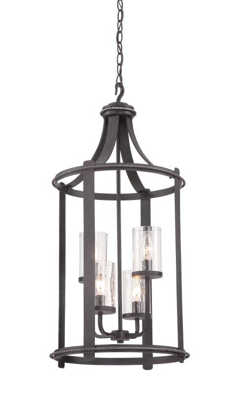 Designers Fountain 87554 Palencia 4 Light Full Sized Foyer Pendant Sale $498.00 ITEM: bci2671187 ID#:87554-APW :