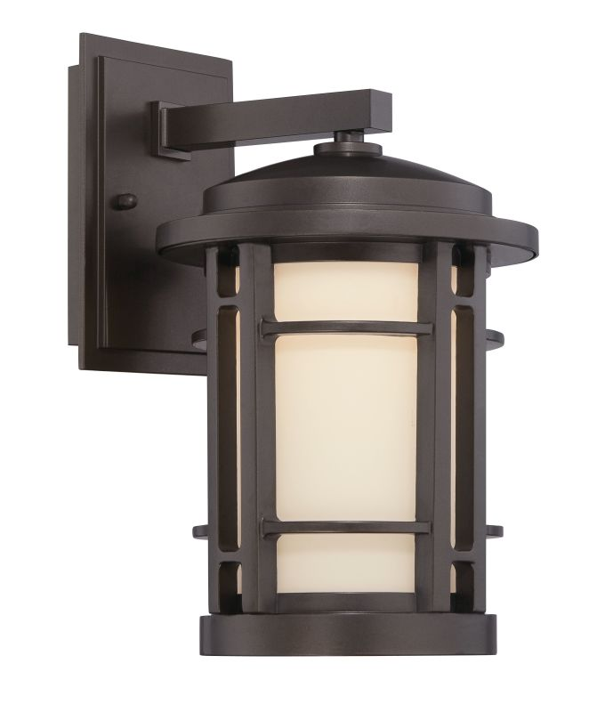 Designers Fountain LED22421 Barrister 1 Light Outdoor LED Wall Sconce