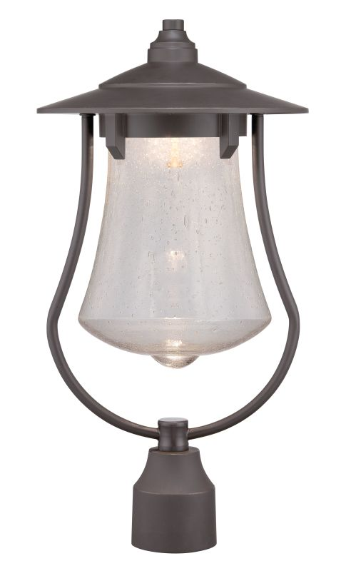 Designers Fountain LED22536 Paxton 1 Light LED Lantern Post Light Aged