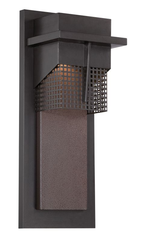 Designers Fountain LED32611 Beacon 1 Light Outdoor LED Wall Sconce