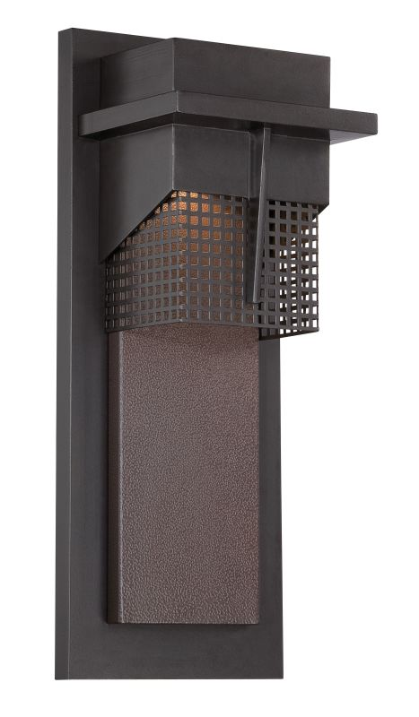 Designers Fountain LED32621 Beacon 1 Light Outdoor LED Wall Sconce