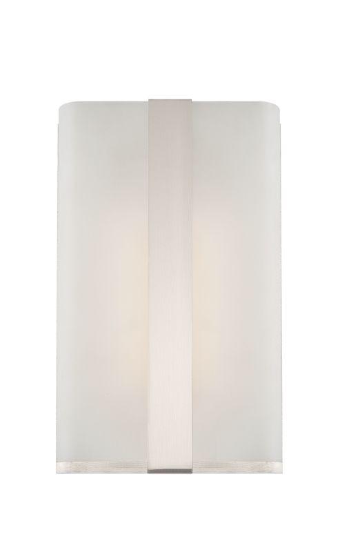 Designers Fountain LED6071-SP Platinum Contemporary Urban Wall Sconce