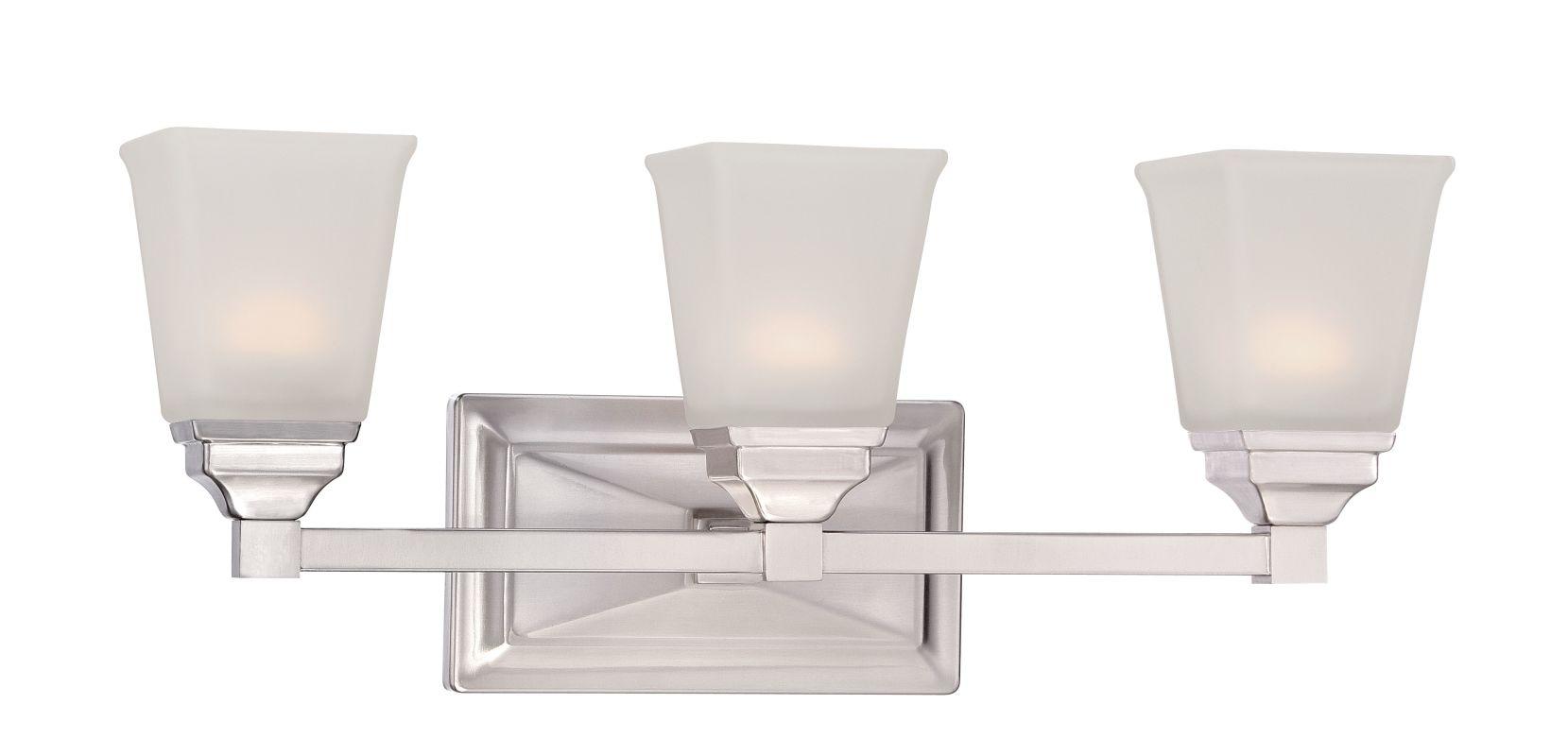 Designers Fountain LED67803 Trenton-LED 3 Light Vanity Light Satin