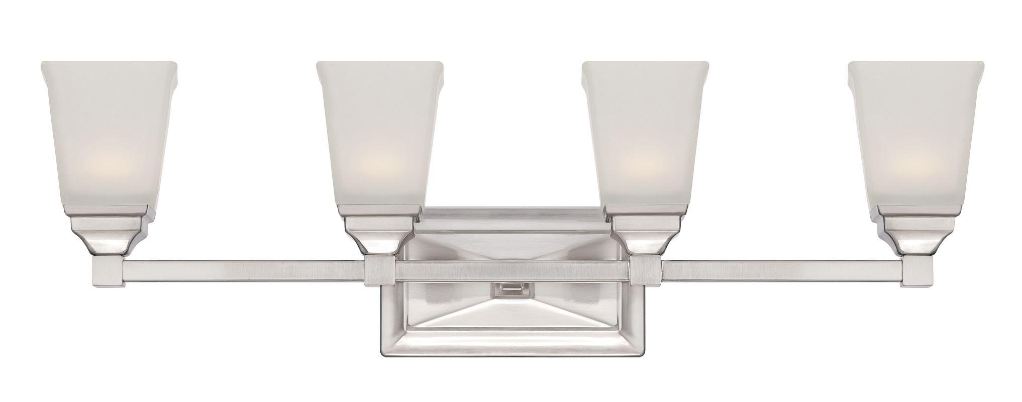 Designers Fountain LED67804 Trenton-LED 4 Light Vanity Light Satin