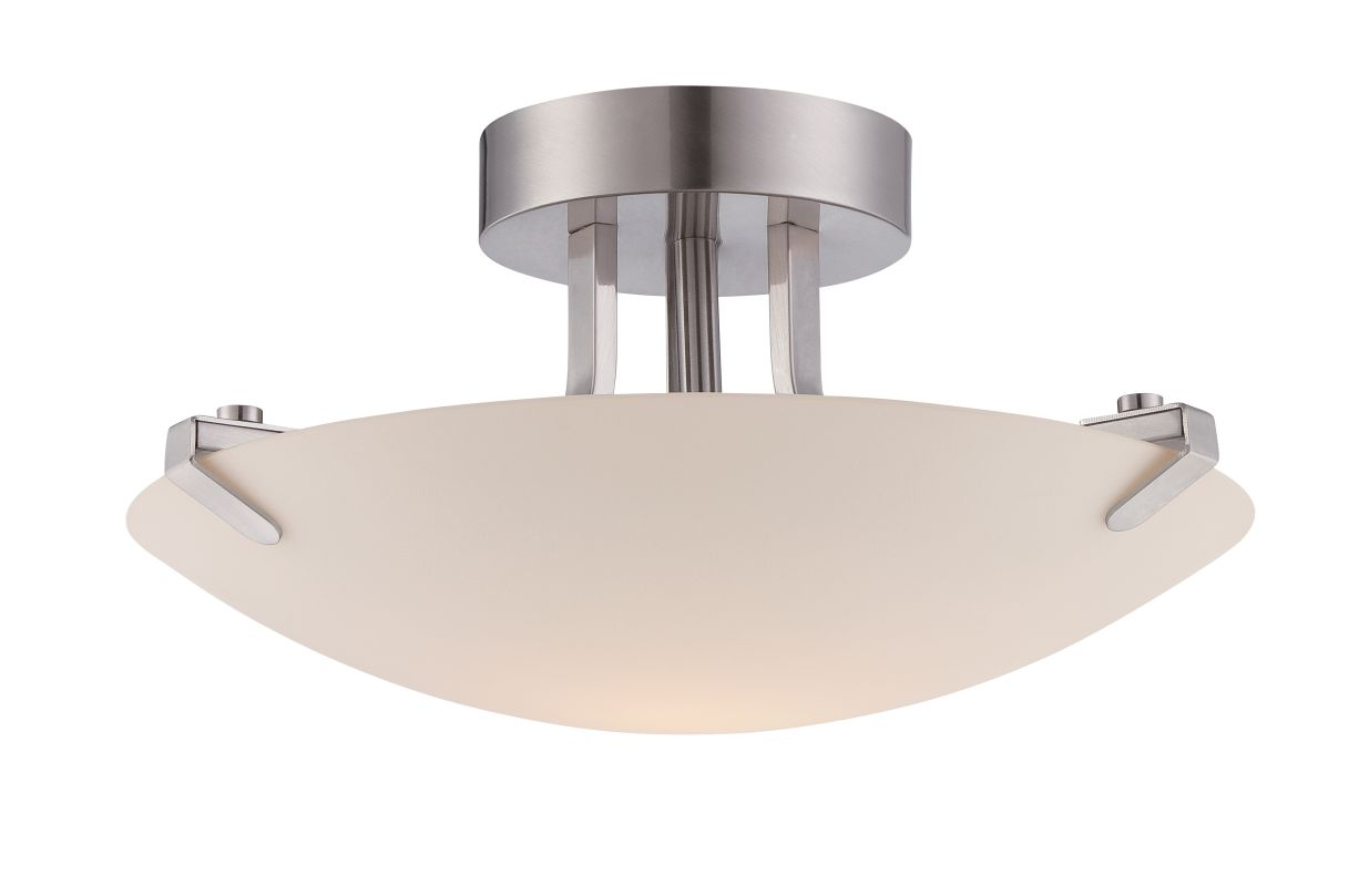 Designers Fountain LED85811 Archer 1 Light Energy Star Semi-Flush
