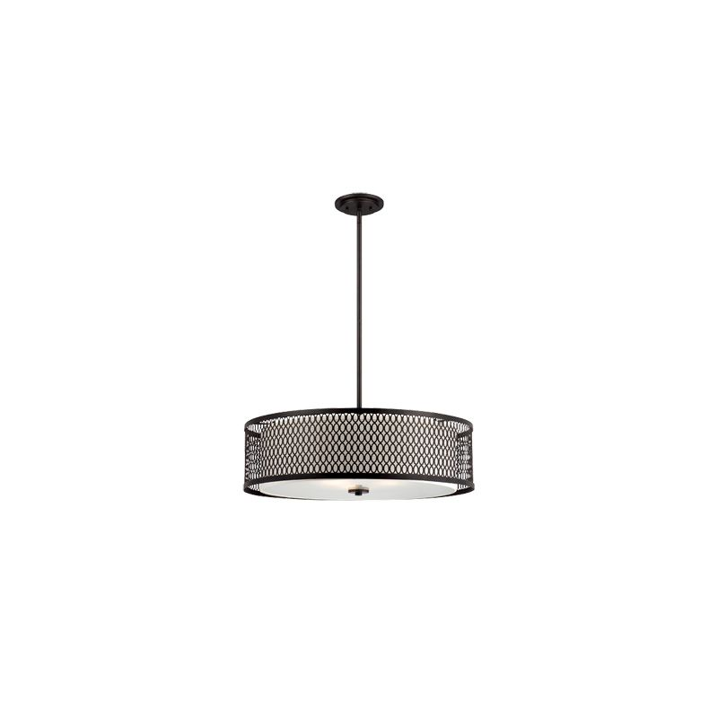 Designers Fountain 6202 Continental 3 Light Foyer Pendant Artisan