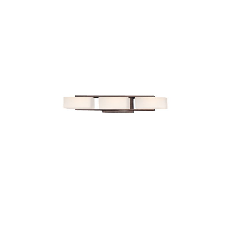 Designers Fountain 6633 3 Light Bathroom Fixture from the Facet