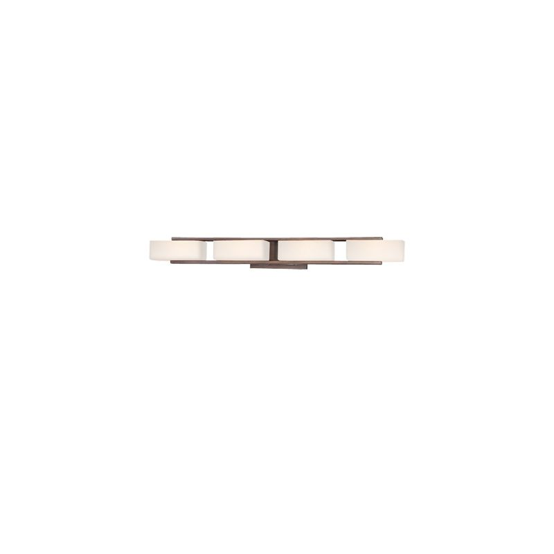Designers Fountain 6634 4 Light Bathroom Fixture from the Facet