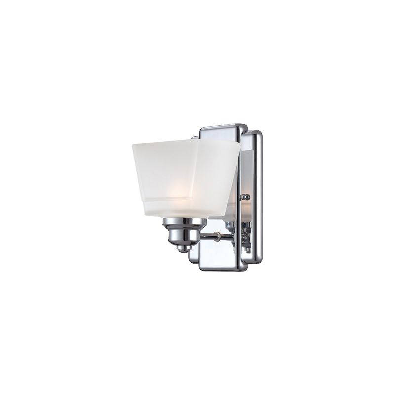 Designers Fountain 6671 1 Light Bathroom Fixture from the Metropolis Sale $57.47 ITEM: bci1798609 ID#:6671-CH UPC: 46335958128 :