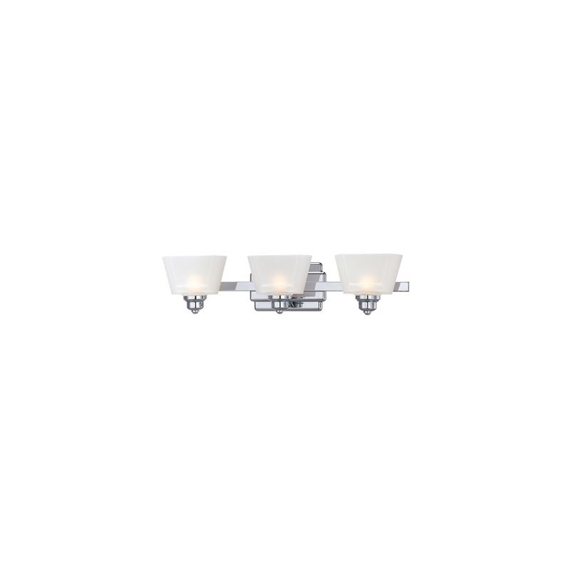 Designers Fountain 6673 3 Light Bathroom Fixture from the Metropolis
