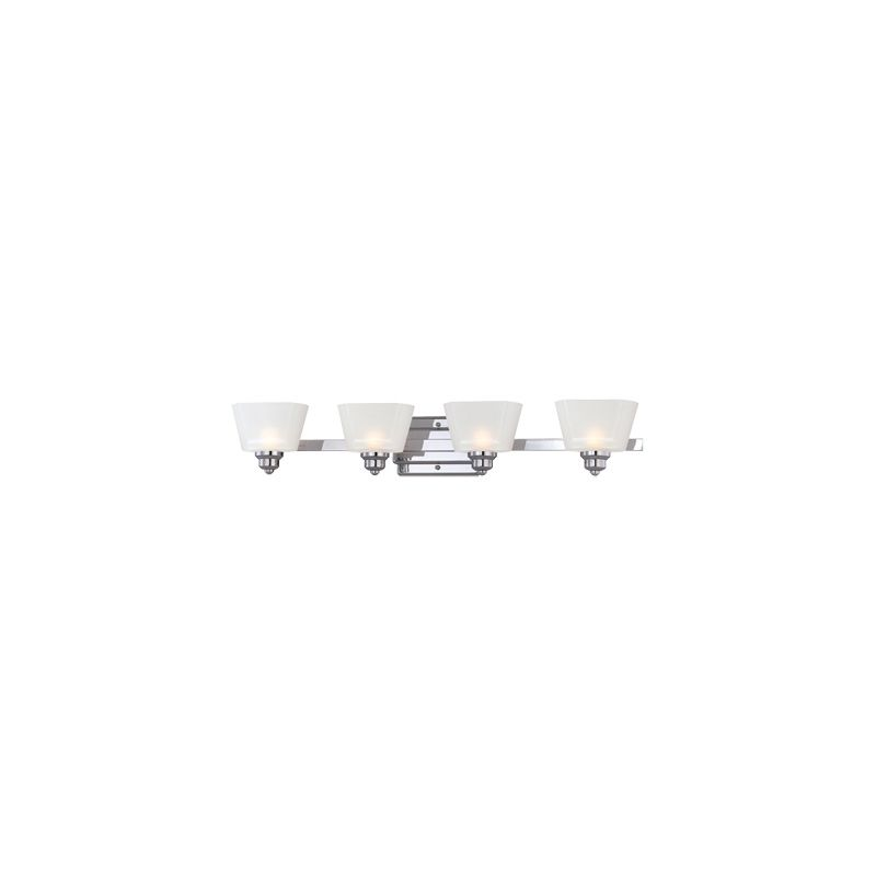 Designers Fountain 6674 4 Light Bathroom Fixture from the Metropolis