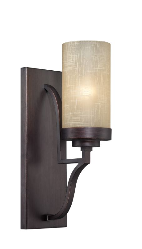 Designers Fountain 83601 1 Light Bathroom Fixture from the Castello