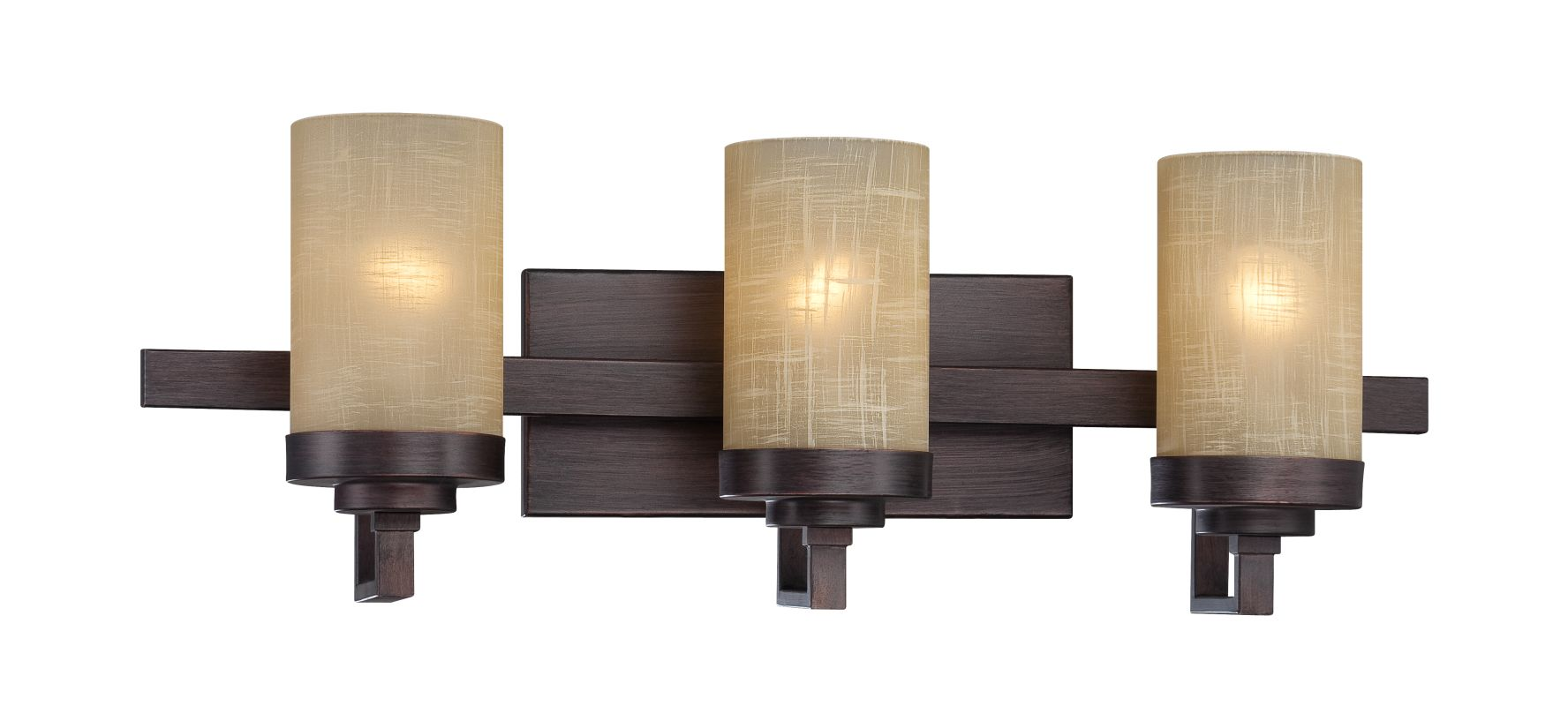 Designers Fountain 83603 3 Light Bathroom Fixture from the Castello