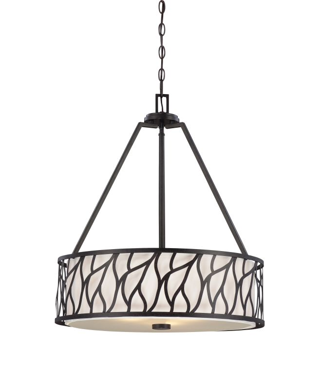 "Designers Fountain 83731 3 Light 25.25"" Foyer Pendant from the Modesto"