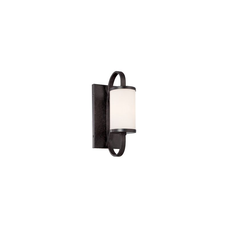 Designers Fountain 84401 Bellemeade 1 Light Wall Sconce Bathroom