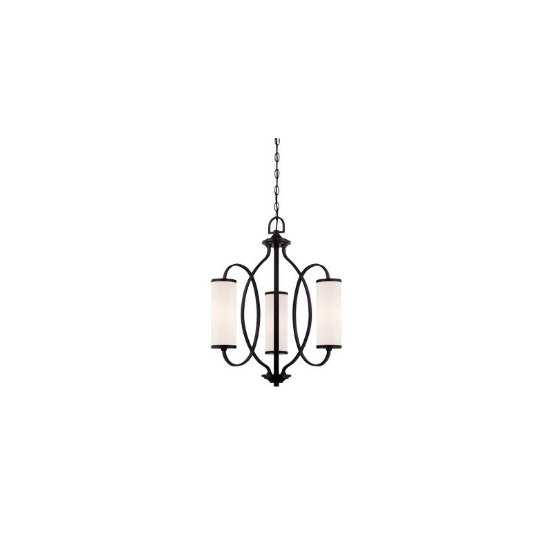 Designers Fountain 84483 Bellemeade 3 Light 1 Tier Mini Chandelier