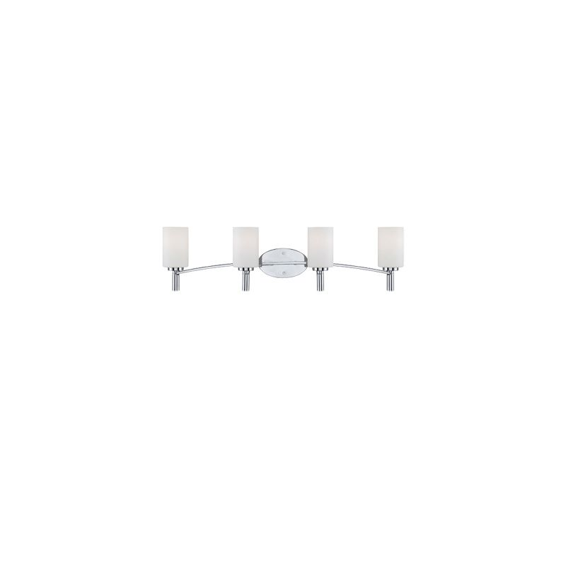 Designers Fountain 84504 Cordova 4 Light Bath Bar Bathroom Fixture Sale $219.50 ITEM: bci1950394 ID#:84504-CH UPC: 46335959095 :