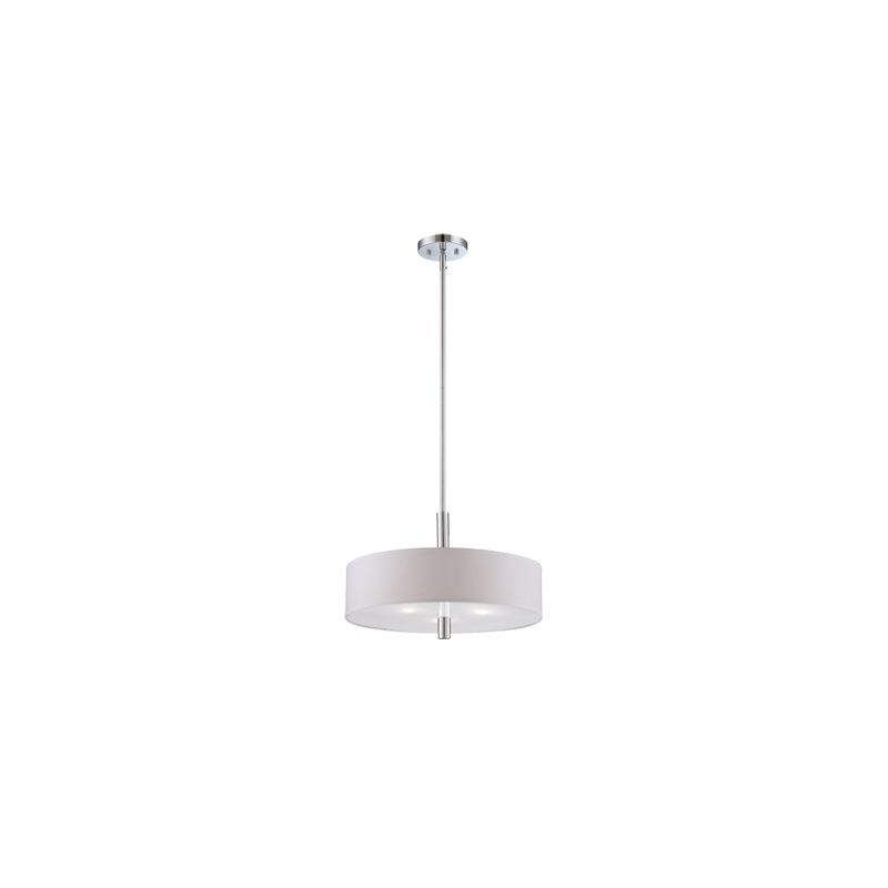 Designers Fountain 84531 Cordova 3 Light Down Light Pendant Chrome
