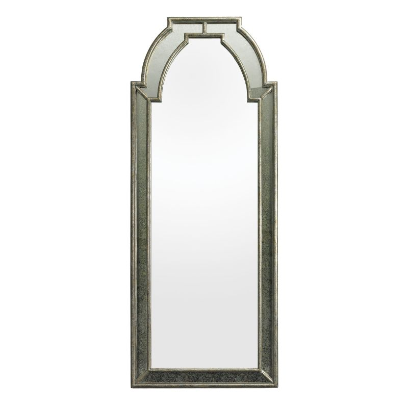 "Dimond Home 114188 Arched 68""H X 27""L Wall Mirror Antique Silver"