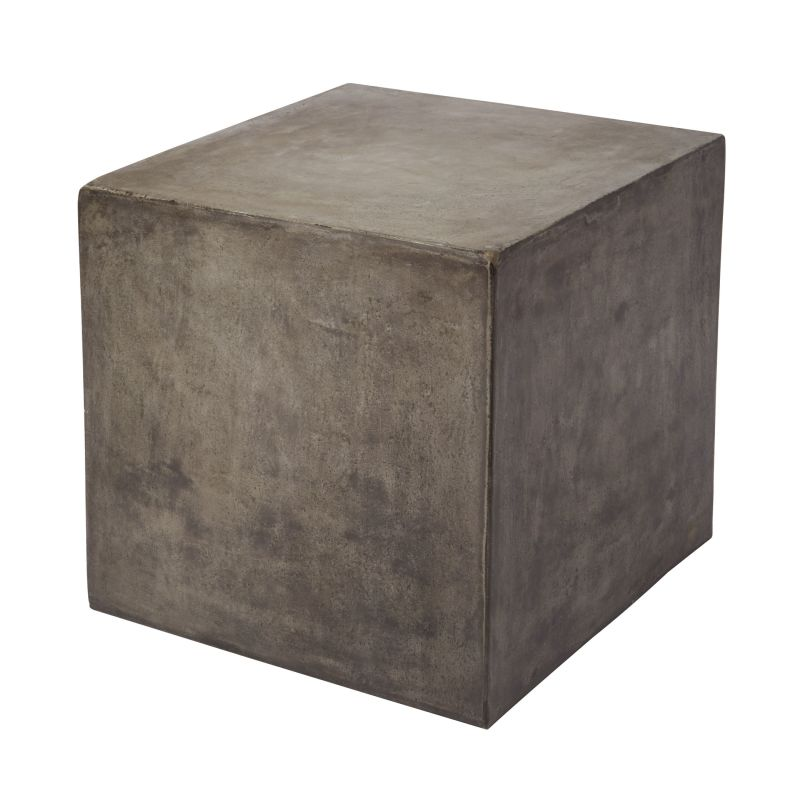 "Dimond Home 157-008 Cubo 20""H X 20""W X 20""L Cube Table Concrete"