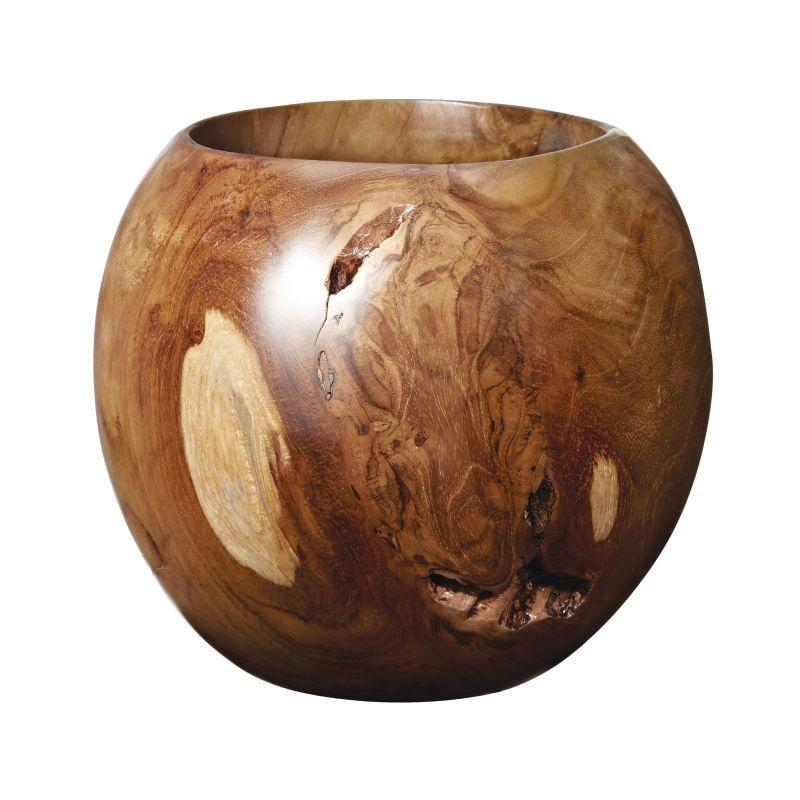Dimond Home 162-020 Small Teak Bowl Natural Teak Home Decor Decorative