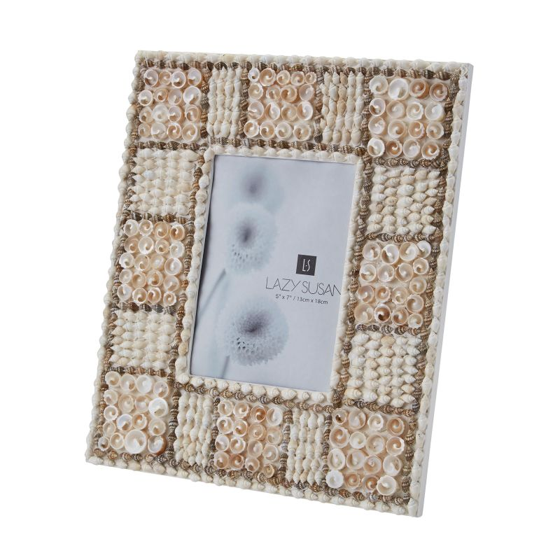 Dimond Home 163-012 5X7 Natural Shell Mosaic Frame Natural Home Decor