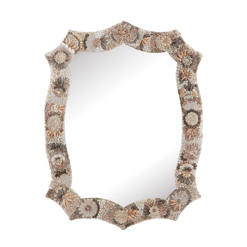 "Dimond Home 163-028 Antoinette 48""H X 36""W Specialty Shell Framed"