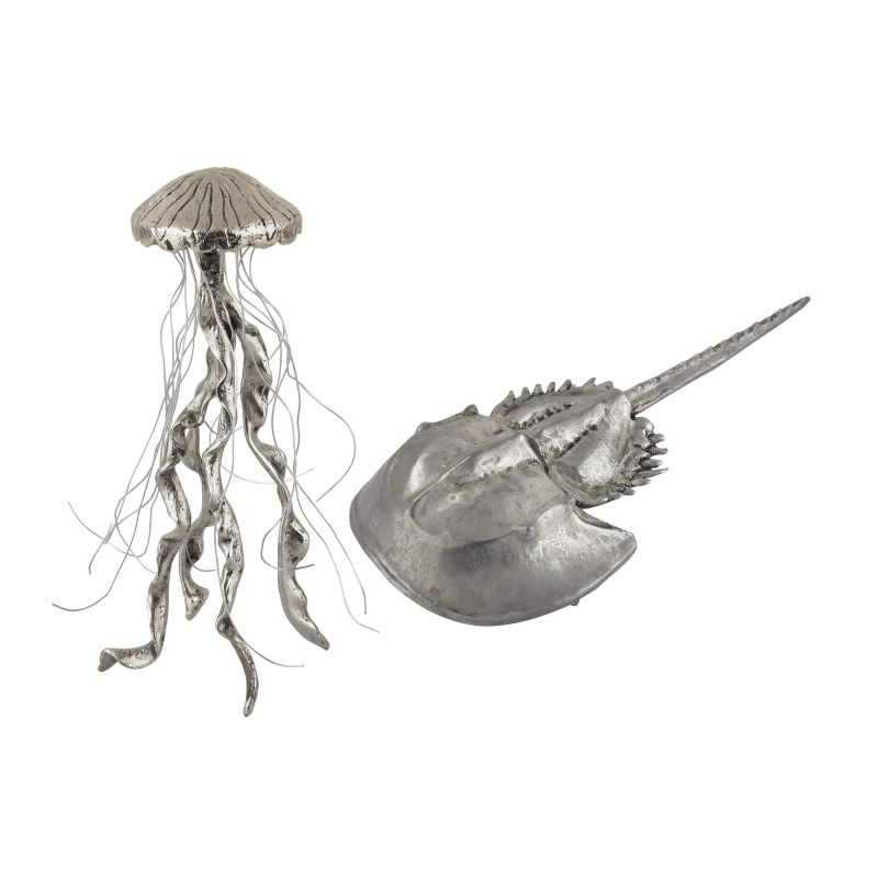 Dimond Home 165-002/S2 Hand Forged Silver Jelly Fish and Horseshow